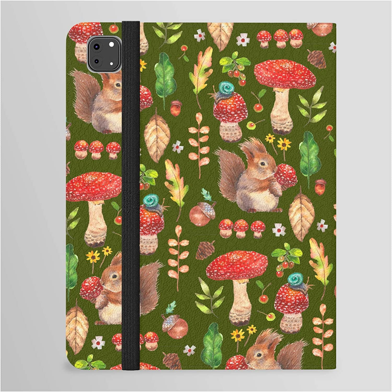 Red Mushrooms and Minneapolis Mall Friends - Overseas parallel import regular item Gbg Folio C Tablet by Janeferwong on