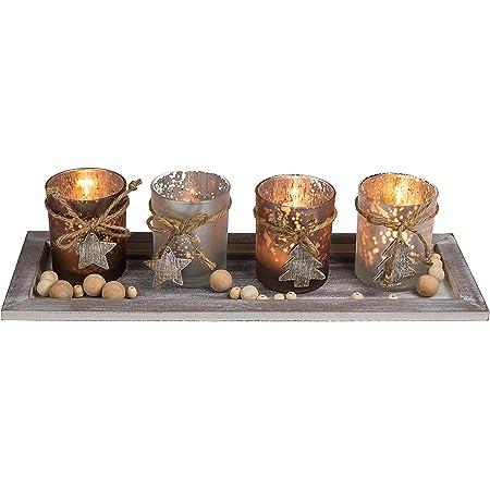 4,8 x 8,2 cm Geschenkanh/änger Holz naturbelassen Weihnachtsdekoration Holz Tag Rayher 62995505 Holz-Anh/änger Weihnachtsb/äume