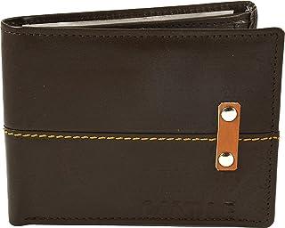 محفظة جلدية أصلية نحيفة من كاندل للرجال - حاملات بطاقات RFID Blocking ذات 5 فتحات بطاقات مع جيب للعملات النقدية وصندوق هدا...