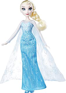 Disney Frozen Elsa - Classic Fashion Doll - Movie Inspired Snow Queen Gown - Kids Toys - Ages 3+