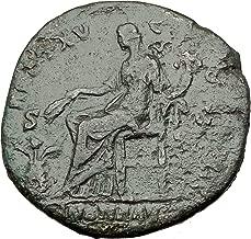 151 IT ANTONINUS PIUS 151AD Rome Sestertius Authentic An Sestertius Good