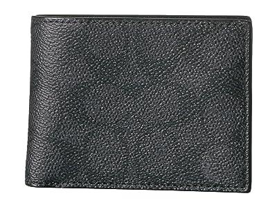 COACH Slim Bifold (Charcoal) Bi-fold Wallet