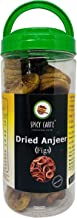 SPICY CARTE, Straight From Farmer To Customer Premium Dried Anjeer (Figs), 1 Kg