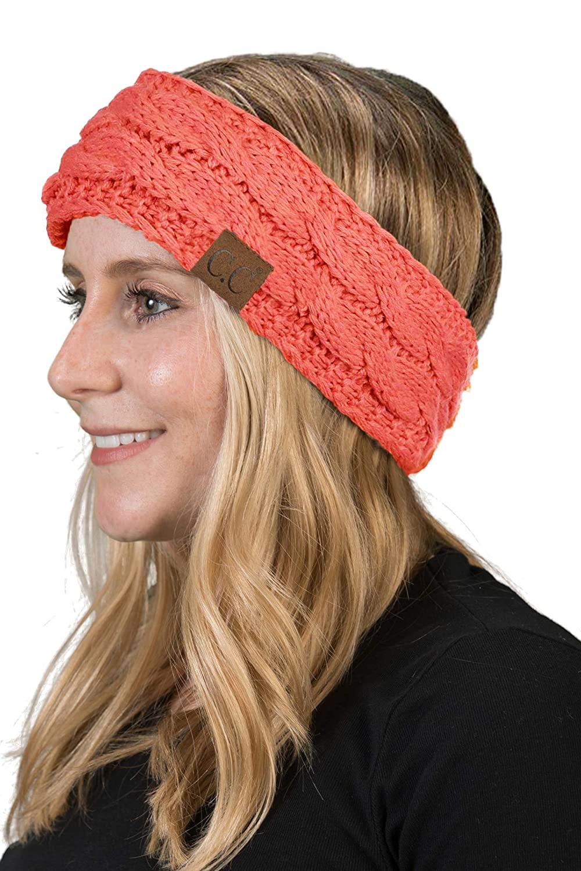 Solid Headwrap - Coral
