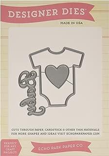 Echo Park Paper Company Baby Onesie Die Set