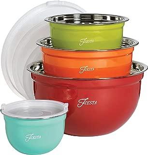 fiestaware mixing bowl set