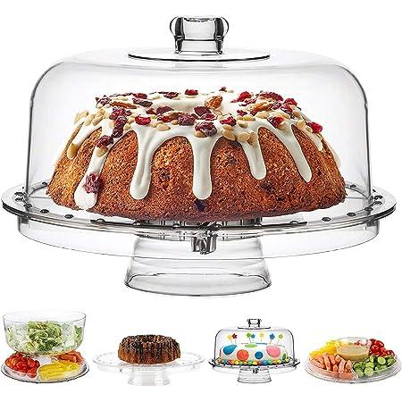 Moradiya fresh Acrylic Cake Stand Tray