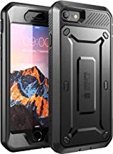 SUPCASE Unicorn Beetle Pro Series Case Designed for iPhone 8 Case, Full-Body Rugged Holster Case with Built-In Screen Protector for Apple iPhone 7 2016 / iPhone 8 (2017 Release) (Black)