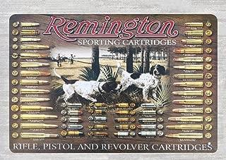 DYTrade Tin Metal Sign 8 x 12 - Remington Revolver cartridges Firearm Metal Sign Perpetual plaques