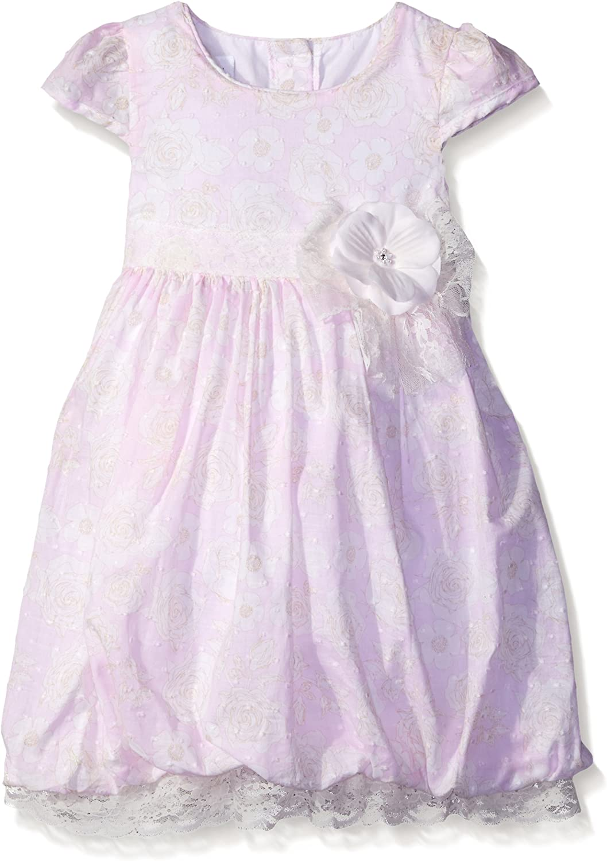 Bonnie Jean Girls' Floral Clipdot Dress