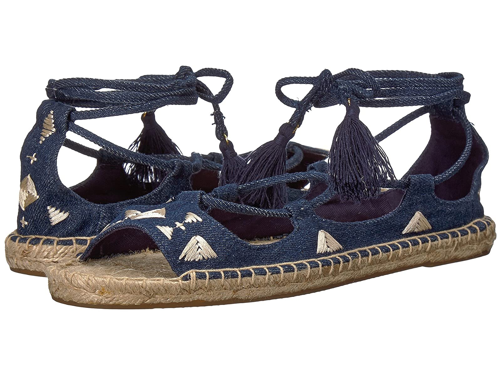 Soludos Embroidered Tie UpCheap and distinctive eye-catching shoes