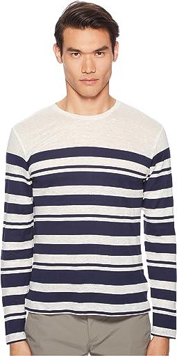 Sammy Long Sleeve Multistripe T-Shirt