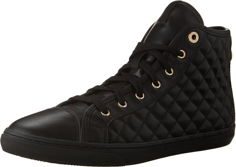 Geox Women's New Club High Top Fashion Sneaker