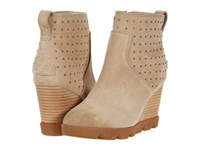 SOREL Joan Uptown Bootie Stud (Sandy Tan) Women