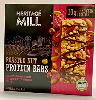 Freedom Heritage Mill Roasted Nut Protein Bars, 222 g