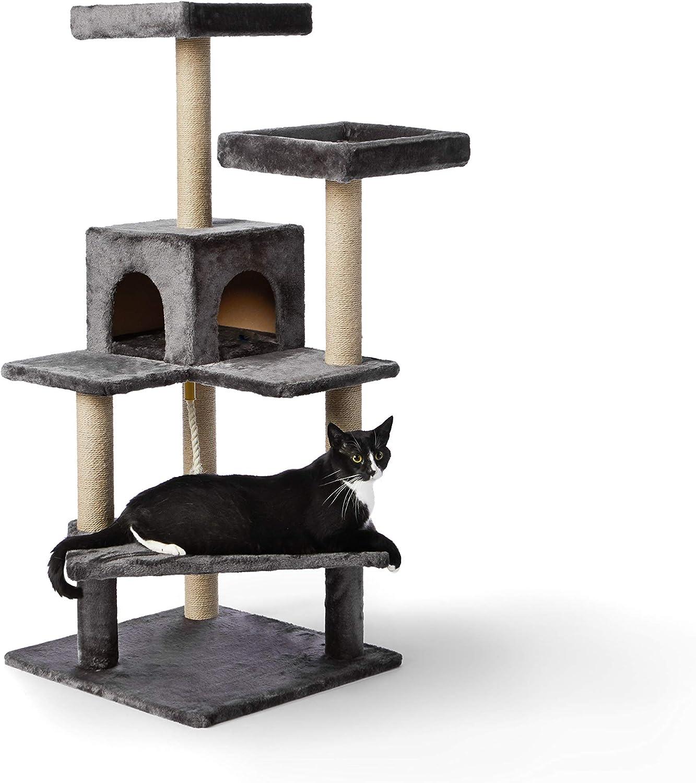 Amazon Basics Cat Tree with 高級品 Scratching Platform X-Large Posts セール商品