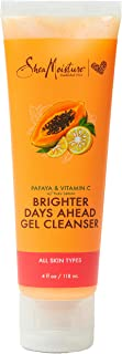 SheaMoisture Gel Cleanser for Dull Skin and Dark Spots Papaya and Vitamin C Paraben Free Skin Care 4 oz