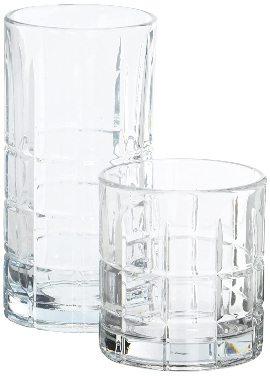 Anchor Hocking 69888L13 Anchor Manchester 16Pc. Set, large, Clear
