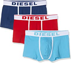 Diesel Men's UMBX-DAMIENTHREEPACK Briefs, Pack of 3