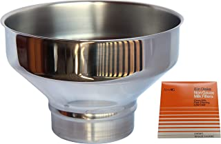 Extra Large Premium Stainless Steel Strainer for Milk, Maple Syrup, or Beverage (Filter Combo))