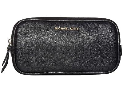 MICHAEL Michael Kors Pebble Leather Belt Bag (Black) Women