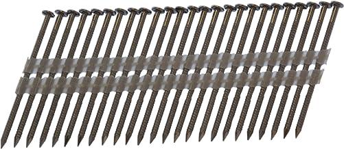 Spot Nails Spot Spijkers 2-10D120SSR 3 duim door .120 duim 20-22 Graad Plastic Strip 304 Roestvrij staalspijkers 1.000 per...