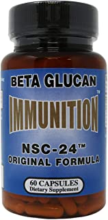 Nutritional Scientific Corporation Immunition NSC-24 Beta Glucan - 60 Ct
