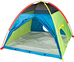 """Pacific Play Tents 40205 Kids Super Duper 4-Kid Dome Tent Playhouse, 58"""" x 58"""" x 46"""""""