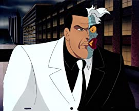 Batman The Animated Series Two-Face Production Animation Cel from Warner Brothers 1992 301