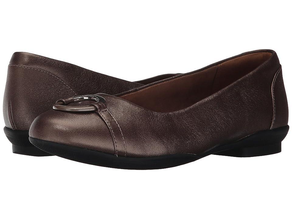 Clarks Neenah Vine (Pewter Leather) Women
