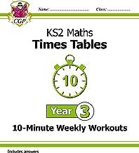 New KS2 Maths: Times Tables 10-Minute Weekly Workouts - Year 3 (CGP KS2 Maths) (English Edition)