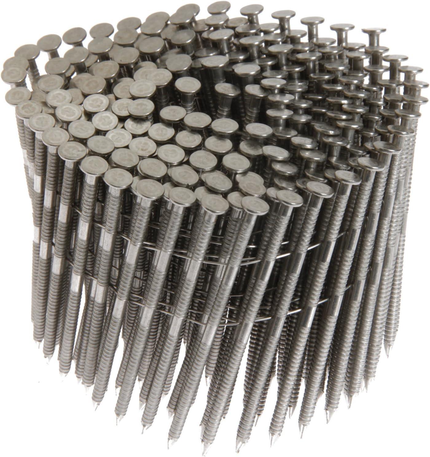 Grip-Rite 3C 3D Flat Head Bright Steel Common Nail 1-1//4 in.