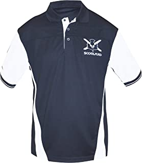 Scottish Performance Shirt - Polyester Short Sleeve Polo Jersey
