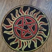 "SUPERNATURAL ~ Anti-Possession Symbol Doormat 24/"" Indoor Doormat #NEW QMx"