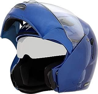 Vega Boolean M.Blue Flip-up Helmet-M