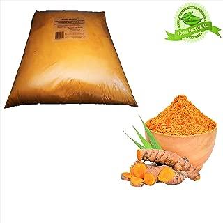 Aroma Depot 5lb/ 80 oz Organic Turmeric Ground Tumeric Root Powder 100% Pure (Curcuma Longa) Curcumin Powder Raw, Non-GMO & Gluten Free Antioxidants | Keto, Paleo, Vegan | Anti-Inflammatory From India