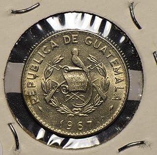 1967 GT Guatemala 1967 5 Centavos 290413 vintage animal DE PO-01