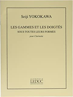 横川晴児 : 音階と運指 (クラリネット教則本) ルデュック出版