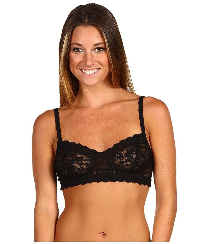 Hanky Panky Signature Lace Retro Bralette 9K7406 (Black) Women's Bra