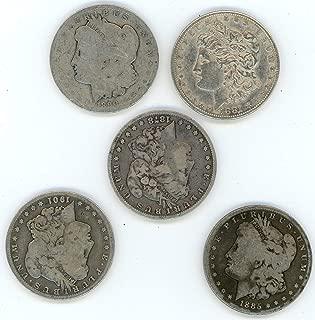 1878 - one coin Morgan Silver Dollar low grade $1 Seller low grade one coin