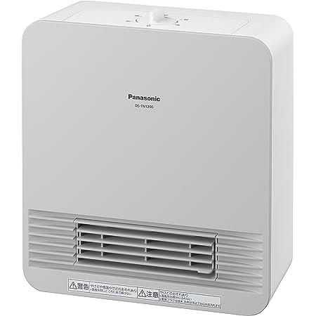 パナソニック セラミックファンヒーター コンパクト ホワイト DS-FN1200-W