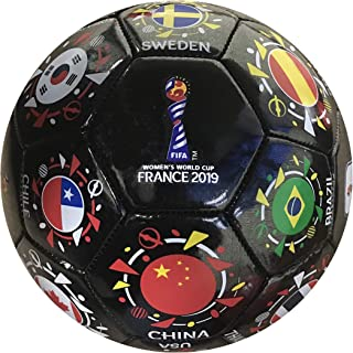 Icon Sports FIFA 2019 Women's World Cup National Orbit Souvenir Size 3 Soccer Ball