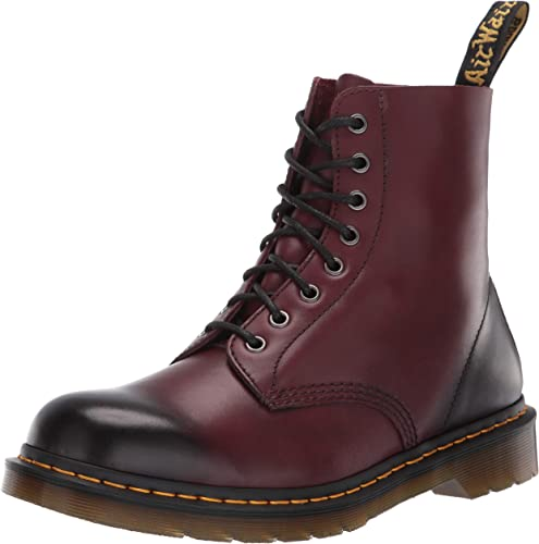 Dr. Martens Pascal Cherry rosso Antique Temperley, Stivali Donna