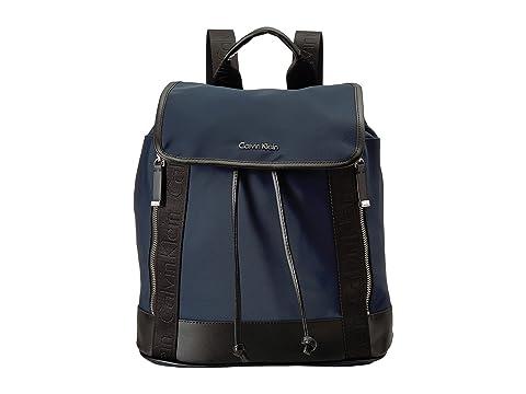 Nylon Klein Calvin Florence Backpack Flap qE1UTwxd1