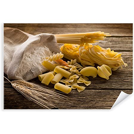 Postereck 0113 Pasta Wheat Flour Kitchen Pasta Cooking Food Organic Wall Poster Photo Poster Pictures Wall Picture Poster Din A4 21 0 Cm X 29 7 Cm Amazon De Home Kitchen