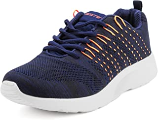 recorrer Sedate Men's Lace-up Navy Sports Running Shoes