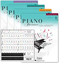 Piano Adventures Level 3A Learning Set By Nancy Faber - Lesson, Theory, Performance, Technique & Artistry Books & Juliet M...