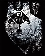 Best wolf engraving art Reviews