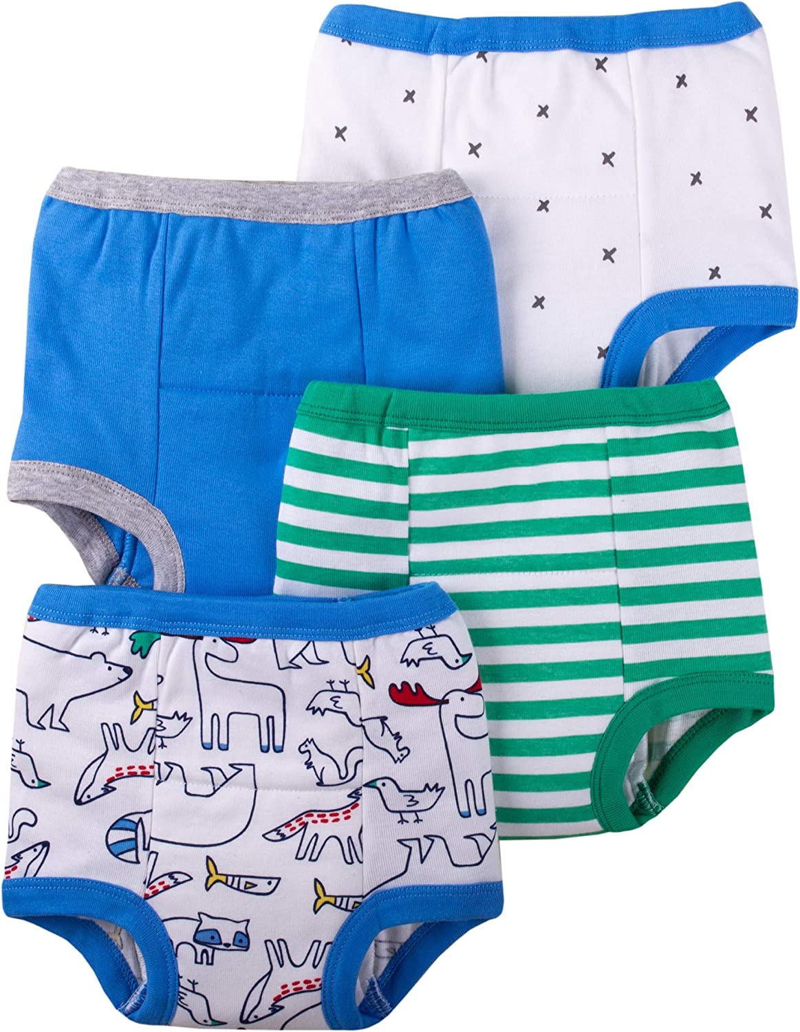 Lamaze Organic Baby Baby-Boys Reusable and Washable Toddler Potty Training Pants, Cotton Cloth