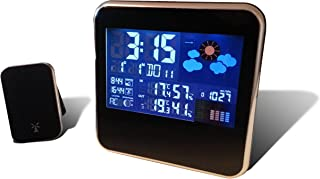 Weather Station With Outdoor Sensor / Transmitter - Wireless Weather Station Gadget by Think Gizmos (Trademark Protected) by ThinkGizmos
